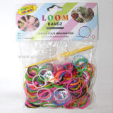 Hot Sell Rainbow Loom Bands, OEM Orders are Welcome