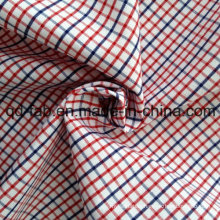 Cotton Yarn Dyed Plaid Fabric (QF13-0218)