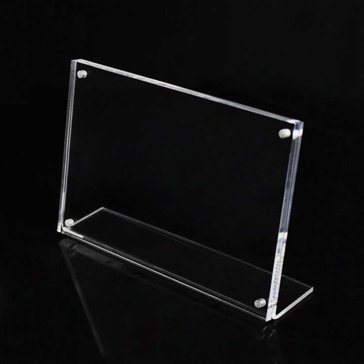 Clear Frameless Picture Frames