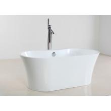 1600mm White Acrylic Freestanding Bathtub