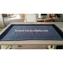 100% кашемир с двух сторон сплошной цвет высокого качества одеяло цена