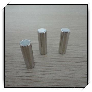 N45h niquelado cilindro permanente imán de NdFeB
