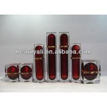Cosmetic Packing Cream Square Acrylic Jar 30ml 50ml