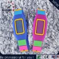 Moda plana de silicona electrónica deportes digital reloj de pulsera