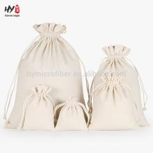 Bolsa de lona lisa con cordón para la venta