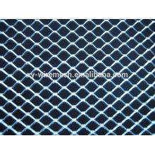 Clôture en maille métallique élargie, maillage métallique en diamant