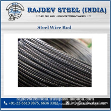 Superior Quality Best Brand Steel Wire Rod at Low Price