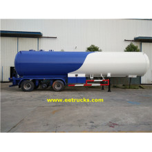 3 eixos 14000 Gallon Propane Trailer Petroleiros