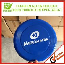 Frisbee en plastique promotionnel adapté aux besoins du client de logo