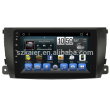 Kaier Android Octa Núcleo Tela de Toque Do Carro DVD Player GPs para Zotye T600 2015 2014 Auto Radio