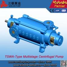 Bomba de agua multietapa centrífuga horizontal de alta eficiencia de tipo Tswa