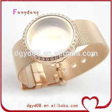 nuevos productos calientes para el brazalete 2015 del encanto del acero inoxidable de las señoras