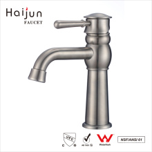 Haijun 2017 Contemporary American Bath Stainless Steel Basin Mixer Faucet