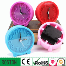 Wholesale Silicon Mini Table Alarm Clock