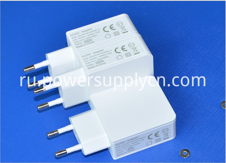 5V3A single USB phone charger EU plug