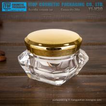 YJ-V30 30g large application pour pot cosmétique acrylique haut de gamme luxe crème-haute qualité-30ml