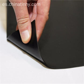 Material virgen reciclado 1.5mm HDPE geomembrane liner