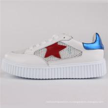 Женская обувь искусственная кожа/кожа/сетка обувь Повседневная обувь СНС-65003