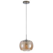 Luminaire suspendu d'intérieur à suspension en verre