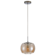 Luz pendente de pingente de vidro para interior