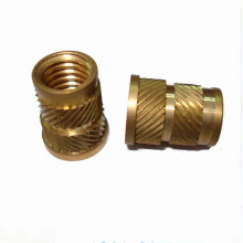 CNC lathe knurled nuts machined parts
