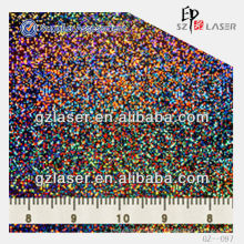 YXCP--097 hologram embossed aluminum nickel sheet for label sticker