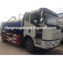 FAW 9000Litres Sewage Treatment Truck