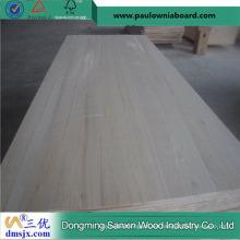 Precio ligero de madera sólida de Paulownia
