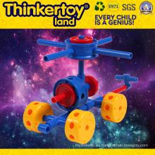 Hermosa silla de hadas modelo de bloqueo de construcción de juguetes de educción para los niños