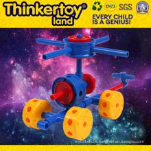 Beautiful Faery Chair Model Building Block Eduction Toy pour enfants