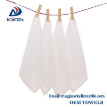 OEM fournisseur 100% coton petite main serviette blanche compagnie aérienne serviette fournisseur 100% coton petite main serviette blanche compagnie aérienne serviette