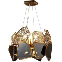 Modern Luxury Crystal hanging Chandelier Lighting Indoor Pendant Light