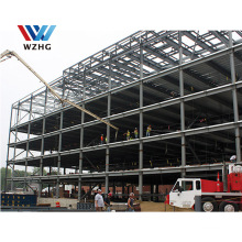 5 Floor Prefabricated Steel Framed Structure Hotel Restaurant Building steel Construction type company