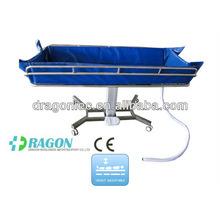 DW-HE018 equipo de hospital cama de ducha del hospital