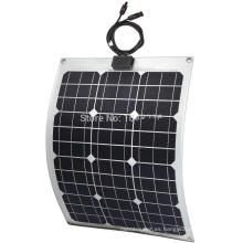 30W panel solar flexible / panel flexible flexible de la película fina / panel solar semi flexible