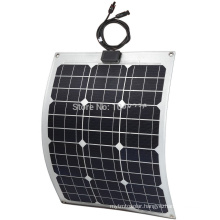 30W Flexible Solar Panel/Flexible Thin Film Solar Panel/Semi Flexible Solar Panel