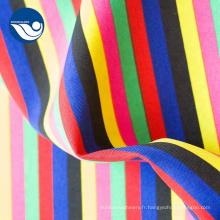 Tissu 100% polyester Mini blanc mat de haute qualité