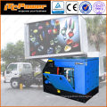 16kW soundproof diesel generator for mobile led screen truck