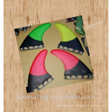 latest design AM2 colorful fin set future on surfboard/sup