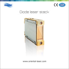 810nm diode laser hair removal machine vertical micro channel or marco channel cooler laser diode stack