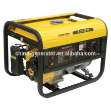 CE&GS approval 2800W Max. power generator WH3500