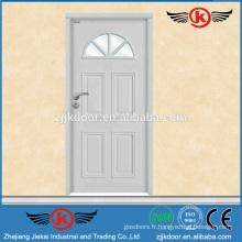 JK-SW9001 2014 porte en acier inoxydable porte en bois avec verre