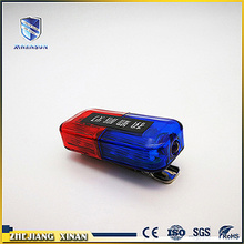 traffic led usb red and blue shoulder lamp