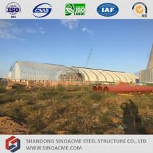 Hangar de structure en acier en acier pour centrale thermique