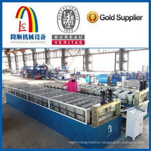 Steel tile making machine