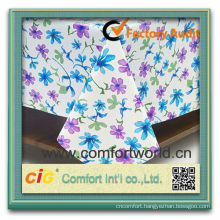 2014 Fashion new design 100% polyester jacquard tablecloth fabric