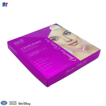 Bottom price for Eyelashes Packaging Paper Box Face Cosmetic decorated paper boxes export to Germany Importers