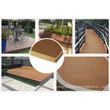 Newest Recycled Regular Wood Plastic Composite Decking