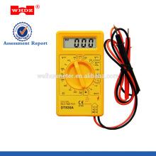 Multímetro digital popular DT830A CE CAT I con el probador de la batería