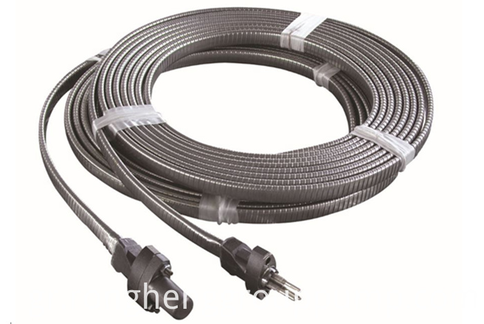 Stainless steel strip lead cable